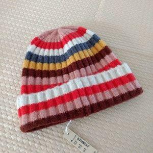 Madewell Multi-Stripe Beanie
